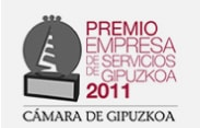 Premio empresa de servicios de gipuzkoa 2011 - CÁMARA DE GIPUZKOA